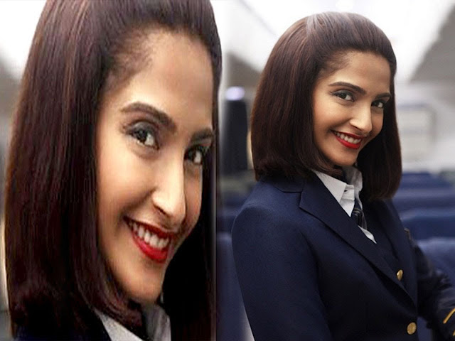 Why was Sonam Kapoor stressed while shooting for 'Neerja'?