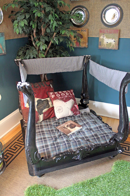 The 2012 bachman 39 s fall ideas house part 3 upstairs for Cute dog room ideas