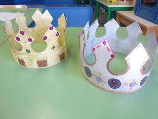 Bricolage couronne des rois GS