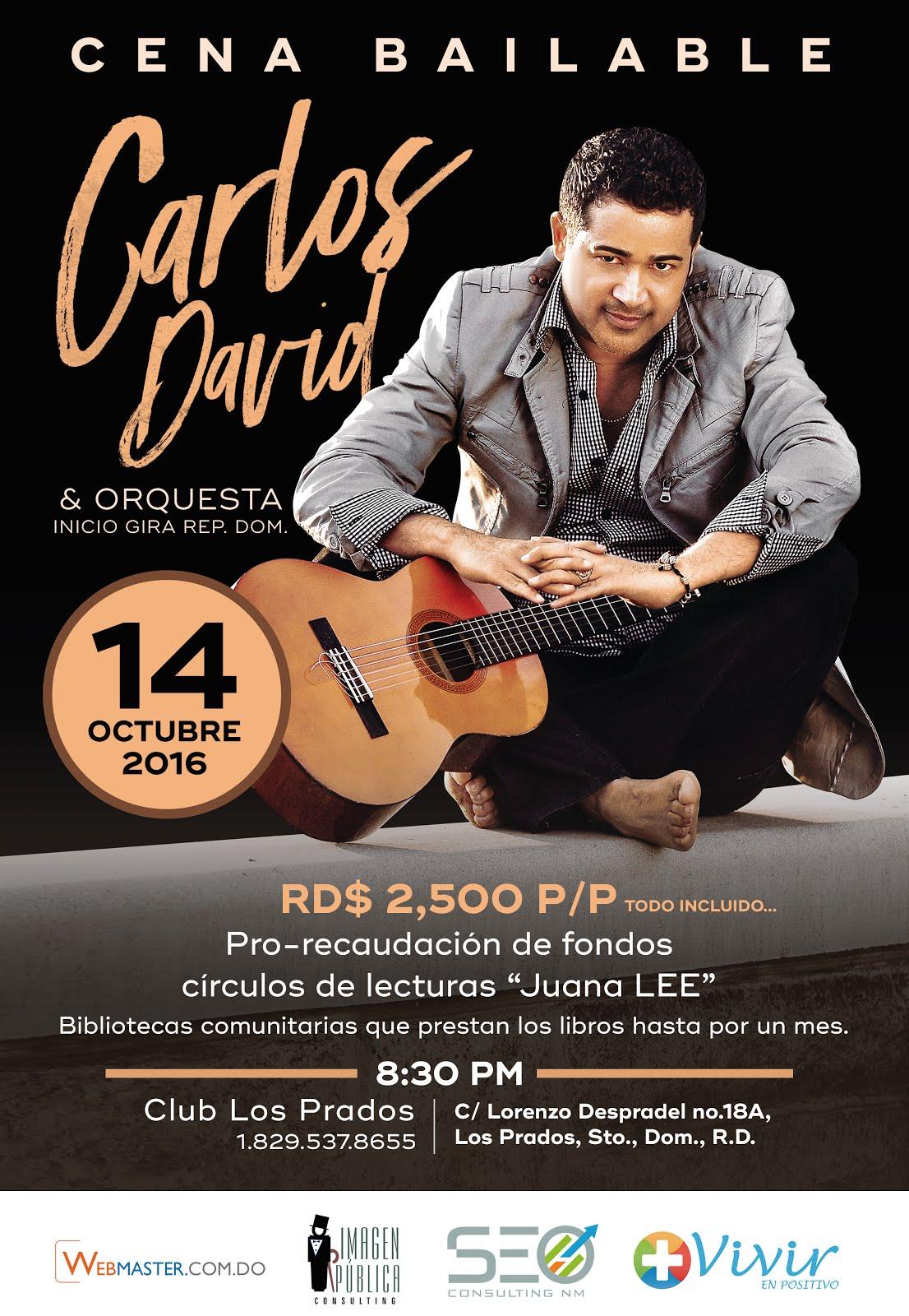 Carlos David en Concierto