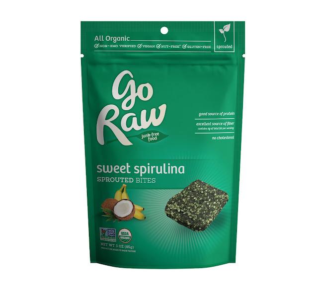 Go Raw Sweet Spirulina Sprouted Bites