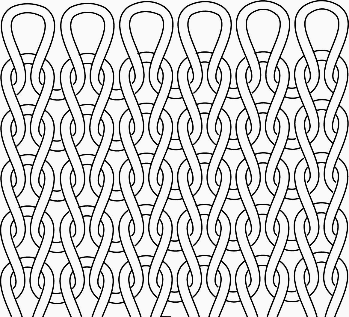 Drawing Knitting Pattern : Technique tuesday how to read your knitting little