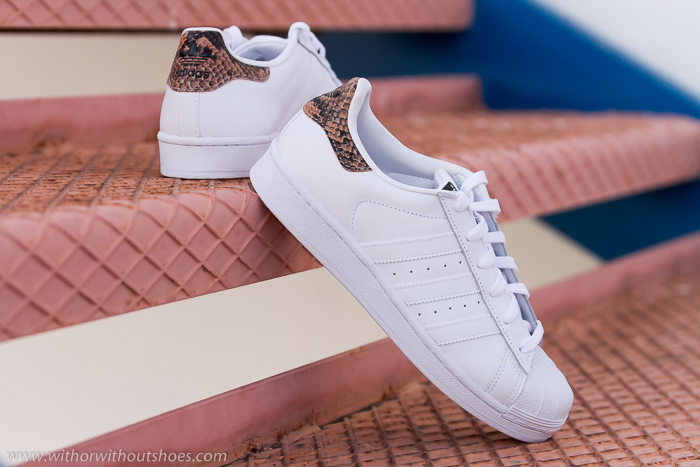 adidas superstar animal mujer