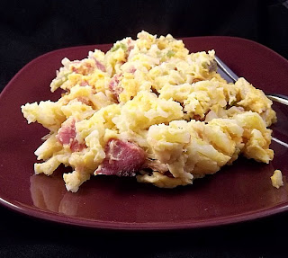 Hashbrown Breakfast Casserole #eggs #potatoes frugalanticsrecipes.com