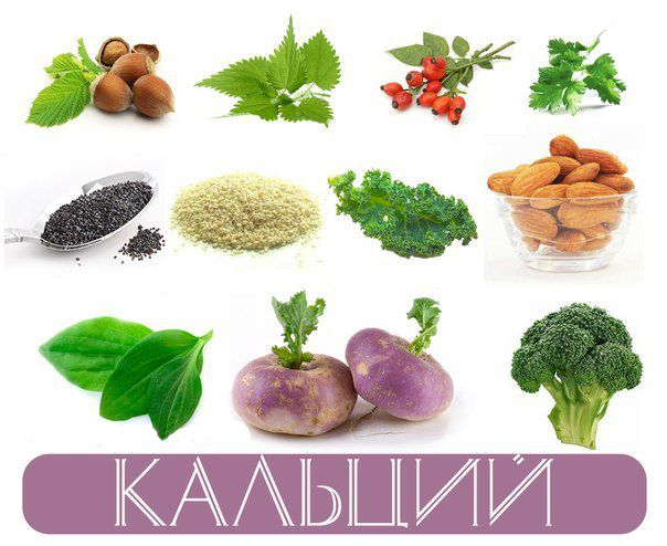 Витамин D и кальций содержание в продуктах  Food and Health