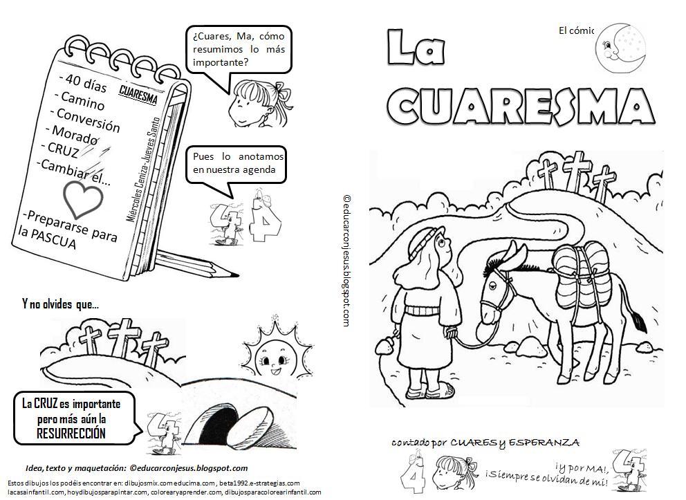 ESPECIAL DE CUARESMA: Actividades para vivir la Cuaresma