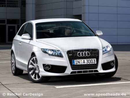 Audi  Models on To See A New Turbocharged Four Cylinder Engine Audi A3 2012