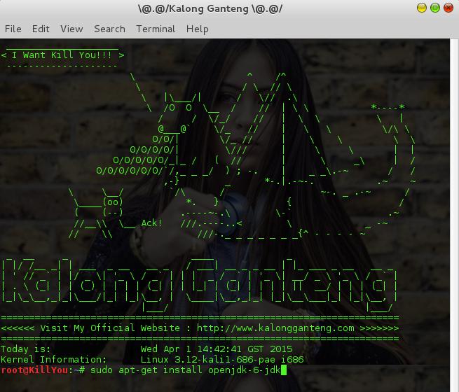 Install java melalui terminal linux