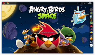 Angry Birds Space Themes For Windows 7 (32 Bit & 64 Bit)