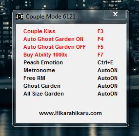 Cheat Hack Kiss & Hack Garden AyoDance V6121