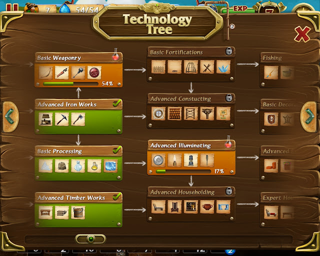 Craft the World - Technology Tree Description