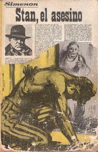 Portada de Stan, el asesino, de Georges Simenon