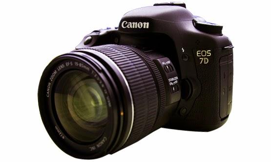 Harga dan Spesifikasi Kamera Digital SLR Canon EOS 7D Baru