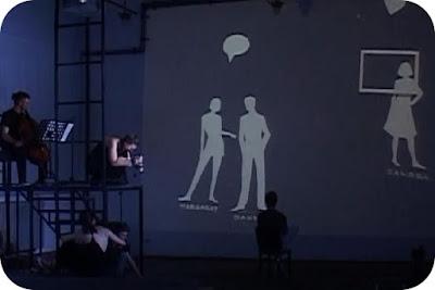 teatru de papusi cu desene animate
