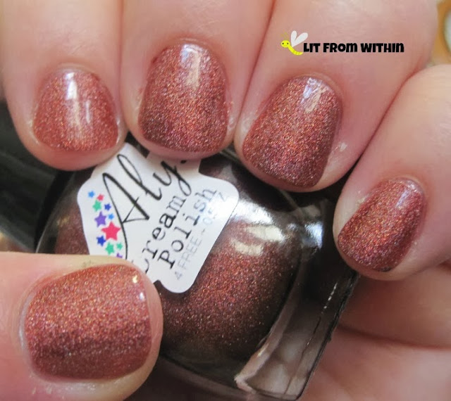 Aly's Dream Polish Firebrick