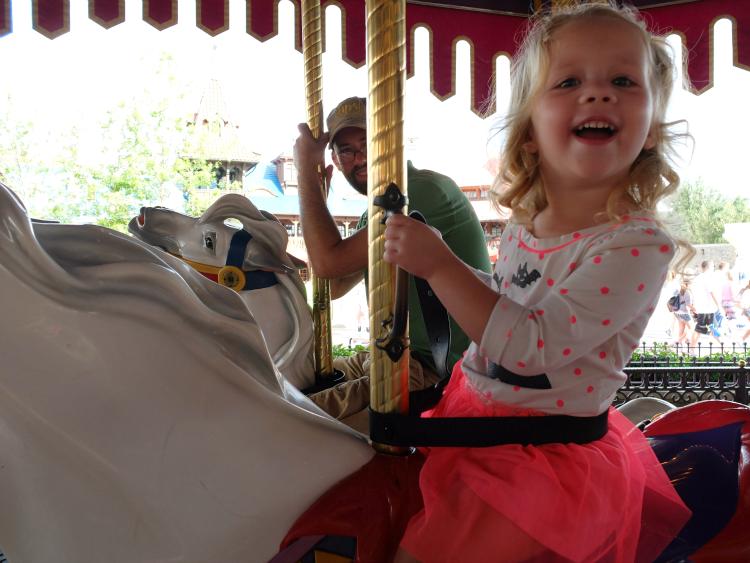 Walt Disney World, Magic Kingdom, Fantasyland, The Carrousel