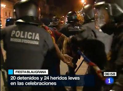 Football Arrests in Barcelona - Barcelona Sights
