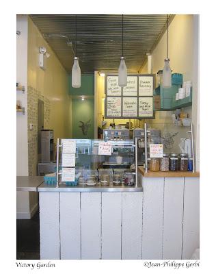 Image of Victory Garden ice cream in West Village NYC, New York