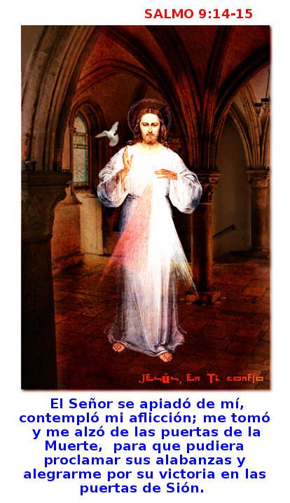 divina misericordia salmo9