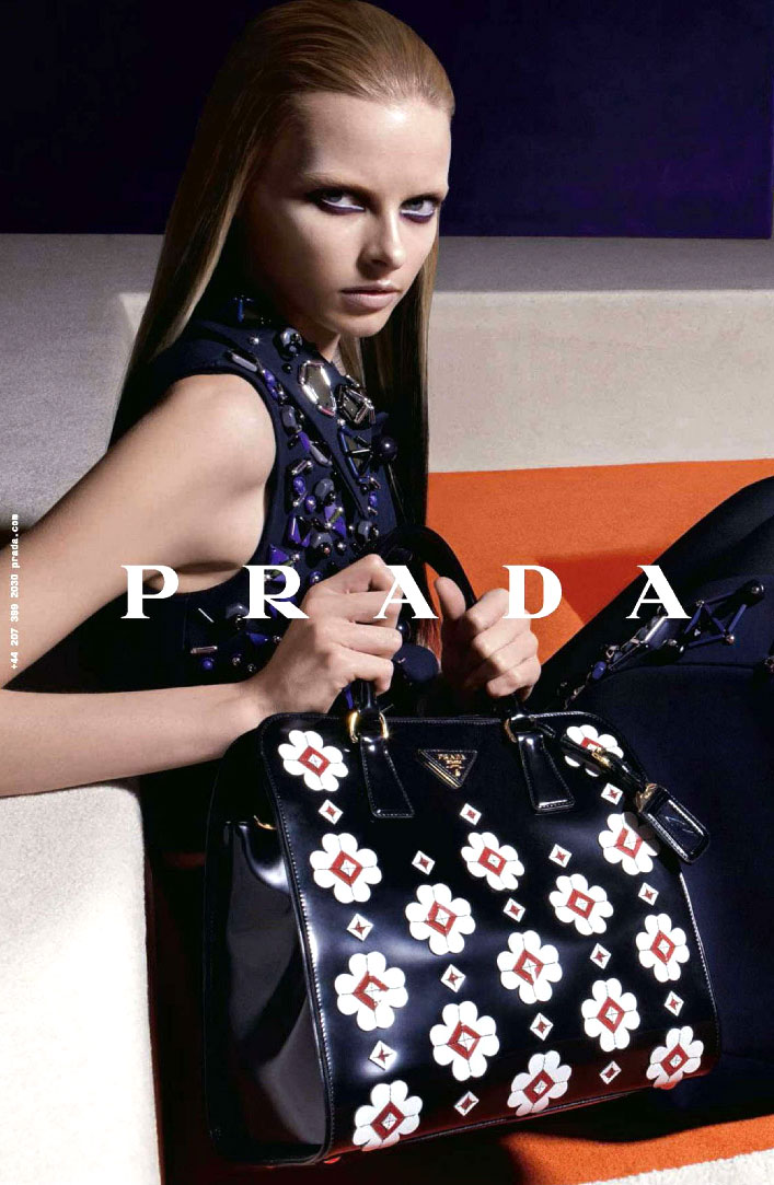 Prada Fall/Winter 2012 campaign (photography: Steven Meisel)