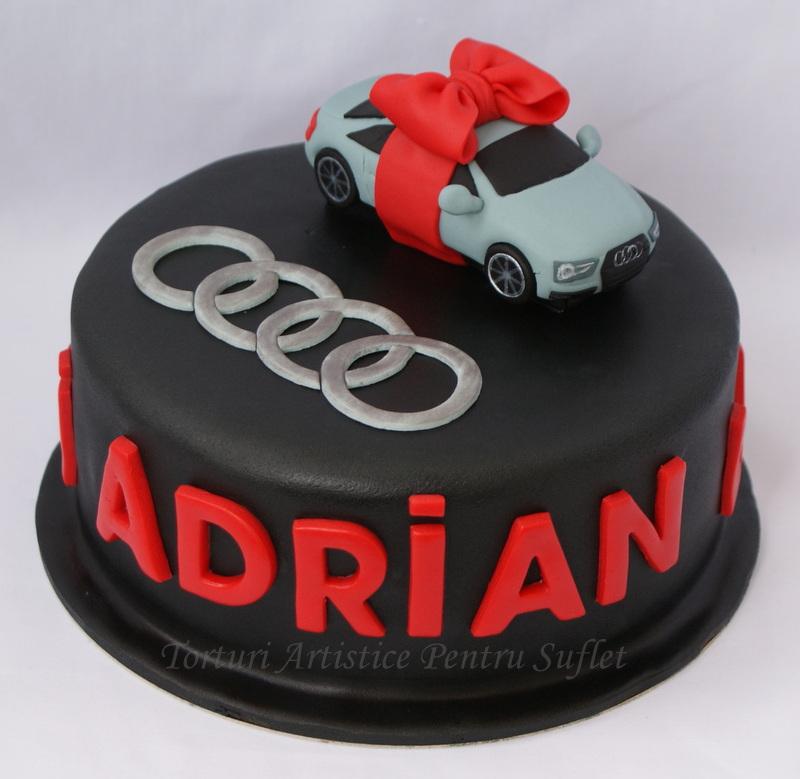 Audi Car Cake Design
