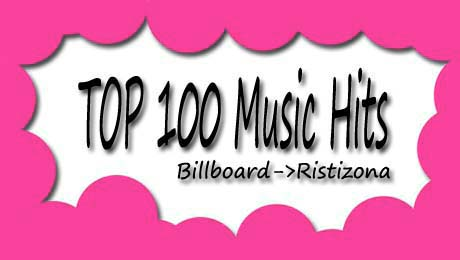 Tangga Lagu Barat, Chart West, Terbaru Juli 2012