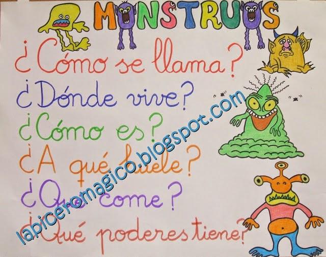 Còmo mola describir monstruos