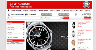 WPGrosir Wordpress Theme