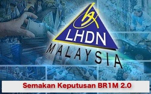 Semakan Permohonan Bantuan Rakyat 1 Malaysia BR1M 2.0