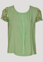 Tricou VILA Ytaca Green (VILA)