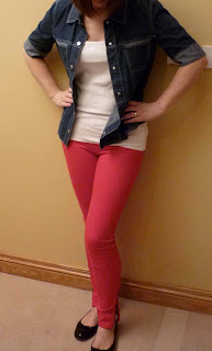 Avril14 Styled by You   Coloured Jeans!