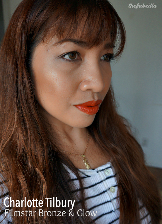 Charlotte Tilbury Filmstar Killer Cheekbones Set, Bronze and Glow, Review, Swatch, FOTD