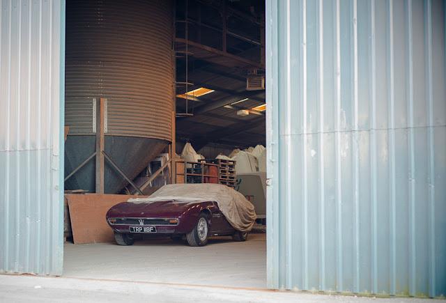 La Maserati Ghibli del 1968 ritrovata in un capannone andrà all'asta