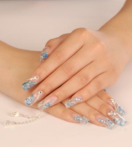 fashion fake nails - artificial