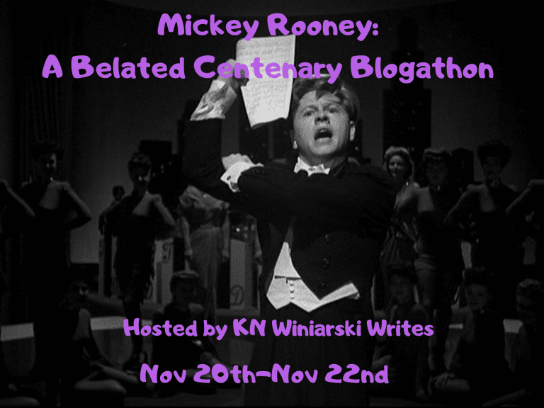 Mickey Rooney: A Belated Centenary Blogathon!
