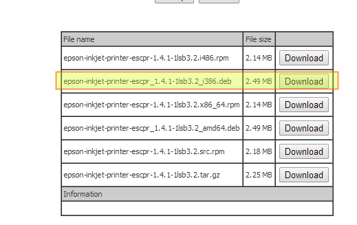 epson driver printer