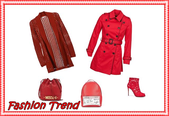 fashion trend rosso