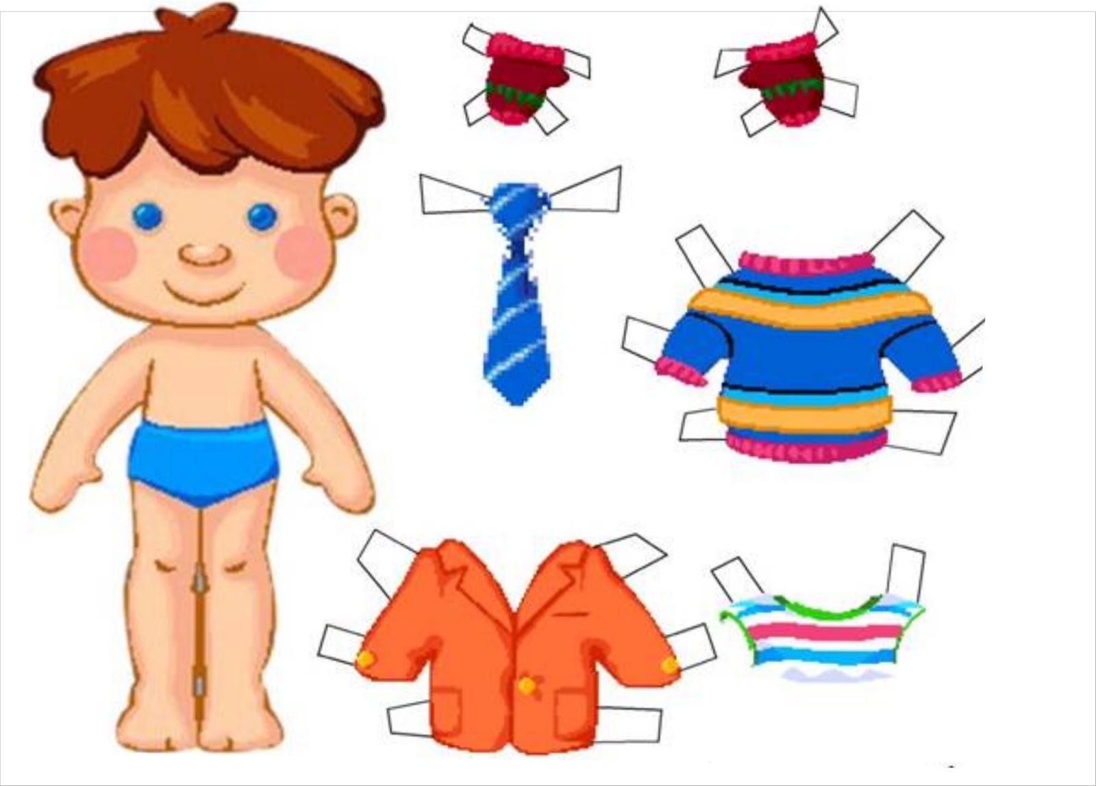 Дидактическая кукла-мальчик своими руками