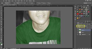 Cara Memberi Warna Foto Hitam Putih Dengan Photoshop