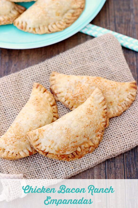 Chicken Bacon Ranch Empanadas | Sweet And Savory Empanada Recipes