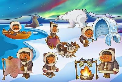 Resultado de imagen de polo norte niños