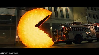 Pixels (Movie) - Trailer - Screenshot