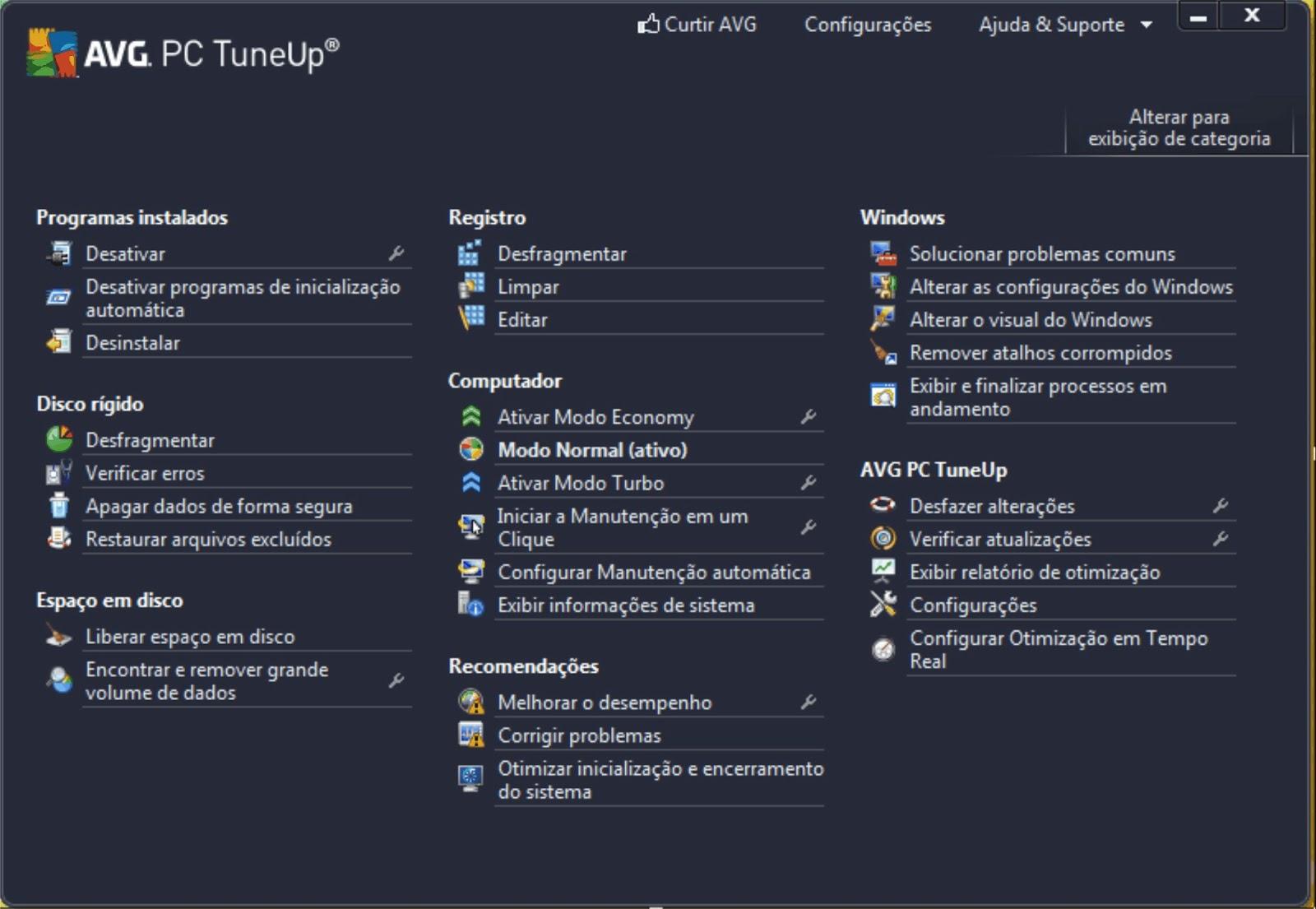 avg pc tuneup key free