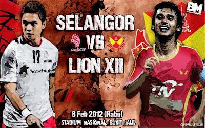 Live Streaming Lions XII vs Selangor 12 Januari 2013
