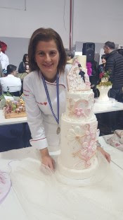 "Medaglia d'oro ""Torte in Fiera 2017"" Categoria Wedding"