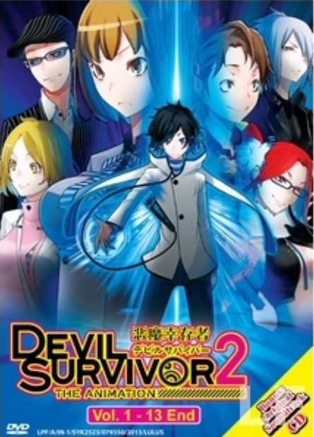 جميع حلقات Devil Survivor 2 The Animation مترجمه للعربي Shin Megami Tensei: Devil Survivor 2 كامل  デビルサバイバー2 THE ANIMATION