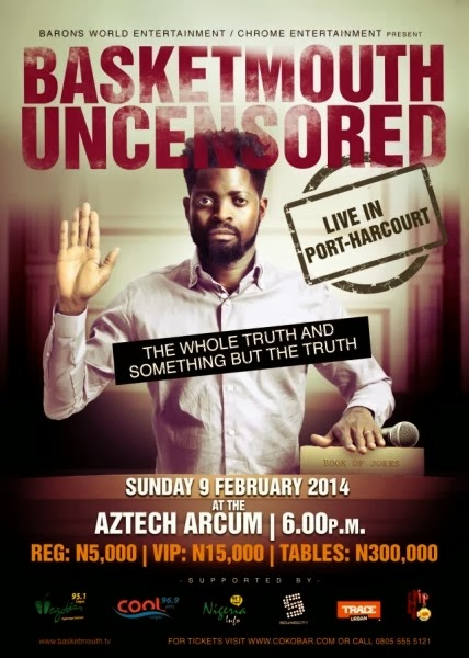 BasketMouth Uncensored PH