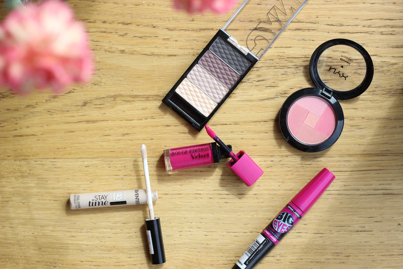 budget makeup, maybelline, bourjois