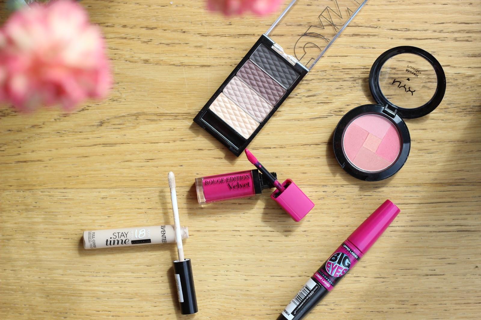 budget makeup, maybelline, bourjois