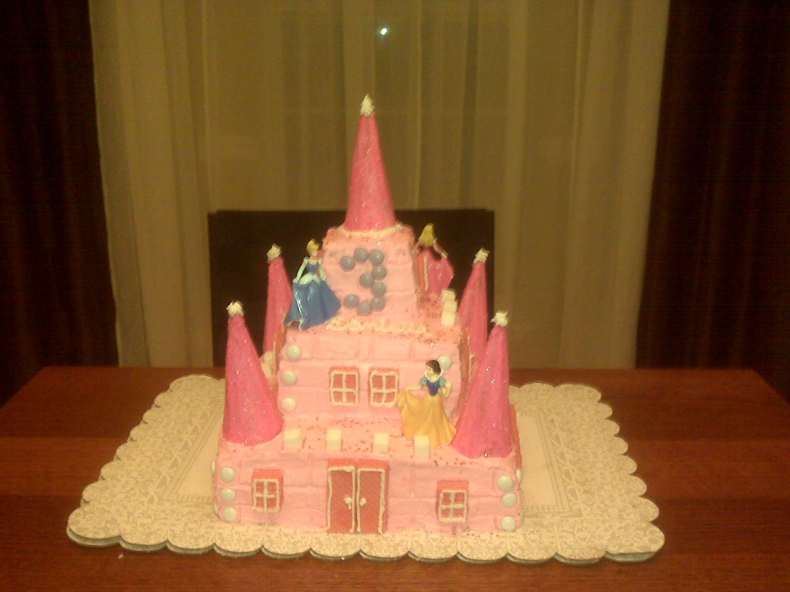 Homemade Princess Birthday Cake Image Inspiration of Cake and